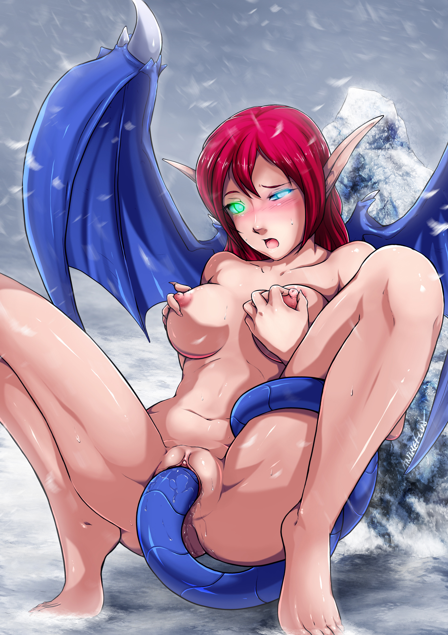 Naked masturbating anime elfs xxx videos
